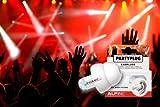 Alpine PartyPlug Bouchons d\'Oreilles pour Concerts et Sorties Blanc