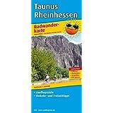 Taunus - Rheinhessen: Radwanderkarte mit Ausflugszielen, Einkehr- & Freizeittipps, wetterfest, reissfest, abwischbar, GPS-genau. 1:100000