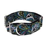 Nicad Handgefertigt Personalisierte Stoff Super Stark Langlebig Reef Hundehalsband Martingale Hundehalsband für Große Hunde