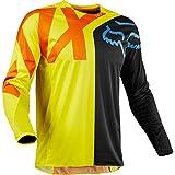 FOX Jersey 360 Preme, Black/Yellow, Größe L