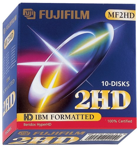 Fuji Disketten MF2HD 1,44MB 8,9cm (3,5Zoll) 10er Pack