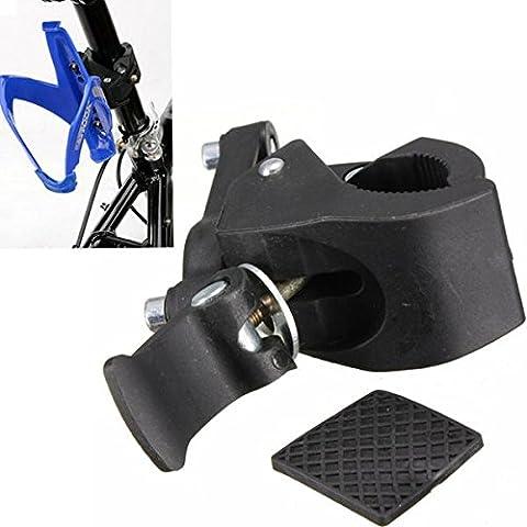 MaMaison007 Bicicleta bici bicicleta botella de agua titular de la Base de montaje de manillar tubo Clip