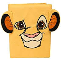 Disney Lion King A5 Soft Notebook Journal, Writing Pad Workbook for Kids Featuring Simba