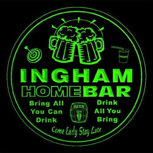 4x-ccq21580-g-ingham-family-name-home-bar-pub-beer-club-gift-3d-coasters