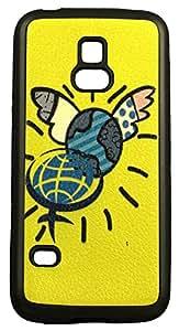 Zeztee ZT7310 Multicolor print Mobile Back Cover For Samsung S5 Mini