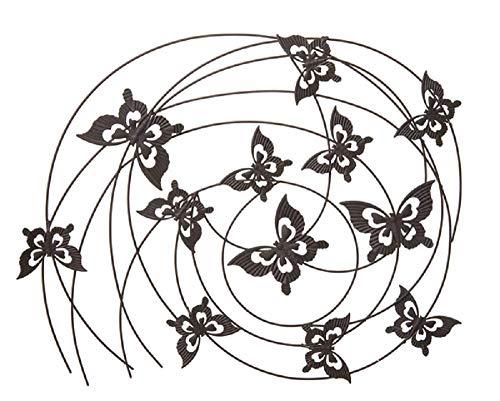 Ganz Butterfly Swirls Wanddekoration - Eisen-swirl