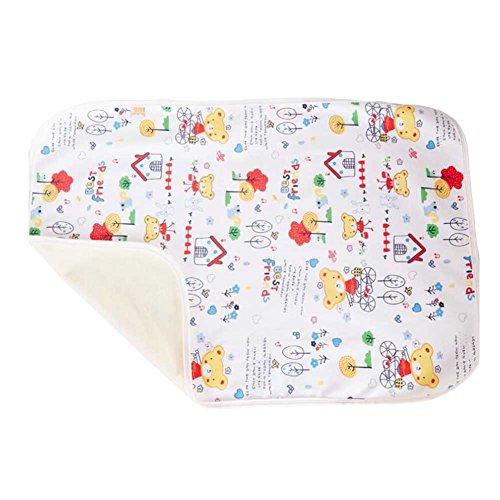 Baby-Home Reise-Urin-Auflage Abdeckung Pad ändern 80*100cm, Bär
