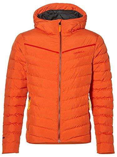 O'Neill Herren Snowboard Jacke Phase Jacket, Bright orange, M Oneill Snowboard