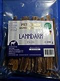 Hunde Kausnack ohne Zusatzstoffe Lammdarm Sticks 15 cm Länge