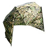 Angel Berger Schirmzelt Angelschirm Schirm Brolly 250 Camou