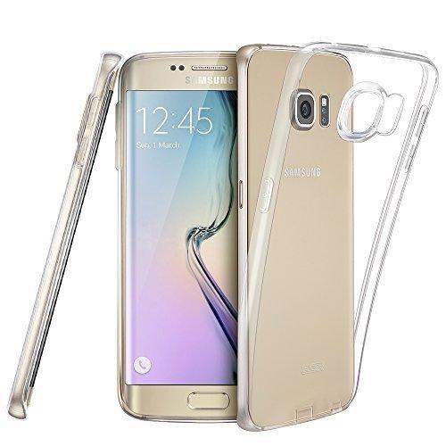 ESR Samsung Galaxy s6 Hülle, Weich Silikon Schutzhülle 0.8mm Ultradünnen Rückseitige Abdeckung Schutzhülle für Samsung Galaxy s6 (Klar)