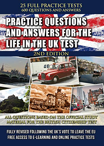 Practice Questions and Answers for the Life in the UK Test 2019