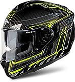 Airoh Casco Integrale motociclo Casco ST 701Safety Full Carbon Giallo S