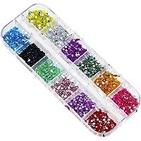 Westeng Mixed Color Pegatinas de Uñas Cristal Claro Nail Art Manicura Uñas Arts Decoración De Moda