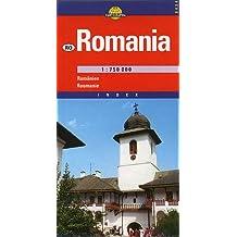 La Roumanie. Carte numéro 6424