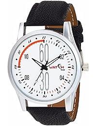 Watch Fine Men's White Dial Analog Watch