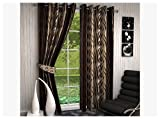 Divine Decor 2 Piece Polyester Long Door...