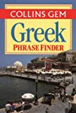 Greek Phrase Finder (Collins Gem)