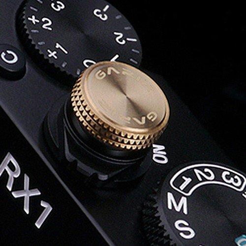 Hochwertiger GARIZ Auslöseknopf BZW. Soft Release Button, speziell für Sony Cyber-Shot DSC-RX1 und DSC-RX10 (XA-SB3S) .(Powered by SIOCORE) Cyber-shot Soft Case