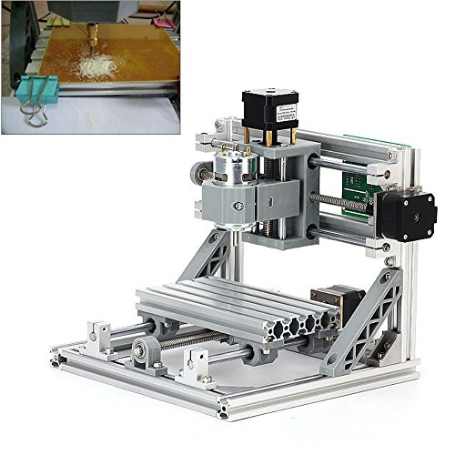 CNC DIY Router 1610 GRBL Engraving Machine, Working Area 260*240*220mm, PCB Milling Machine CNC Wood Metal Carving Mini Engraving Router PVC