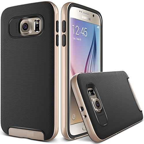 Kapa-Ultra-Slim-Dual-Layer-Shockproof-Back-Case-Cover-for-Samsung-Galaxy-S7-Gold