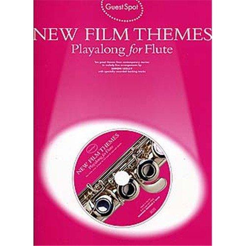 Guest Spot: New Film Themes Playalong For Flute. Partitions, CD pour Flûte Traversière