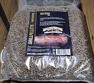 Grillschmecker Grillpellets Walnuss 10kg