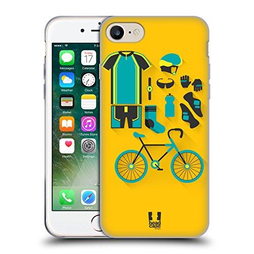 Head Case Designs Cyclisme Paquet D'entrée Étui Coque en Gel molle pour Apple iPhone 5 / 5s / SE Cyclisme