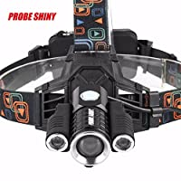 💕💕 15000LM 4 Modes 3x XM-L T6 LED Rechargeable 18650 Headlamp Head Light Torch