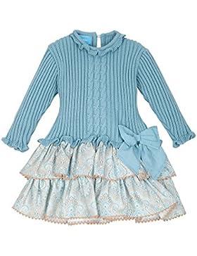 TARTALETA Cuerpo Punto, Vestido, Niñas, Azul, 10 Años