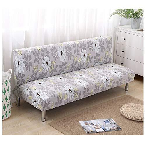 DEEN - Funda Protectora Plegable para sofá o Cama, sin Brazos, elástica,...