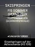 Skispringen: FIS Sommer Grand Prix in Hinterzarten (Schwarzwald) - Einzelspringen auf der Adlerschanze (HS 108)