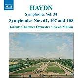 Haydn: Symphonies Vol. 34