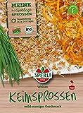 Bio Keimsprossen verschiedene Sorten Brokoletti Aroma Mischung Kresse Weizen Radies (Weizen)