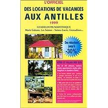 """Guide officiel des """"locations de vacances aux Antilles"""""""