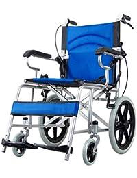 Carritos de la compra Silla de ruedas Silla de ruedas de aleación de aluminio Carro de silla de ruedas para mayores…