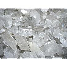 Mineral Import - Puntas de Cuarzo Blanco en Bruto Medianas (pack de 500 gr) - 2162VC