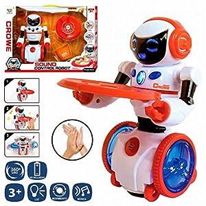 JUINSA- Robot mayordomo Interactivo 20 cm, (96762)