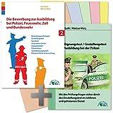 Die Bewerbung und der Eignungstest / Einstellungstest zur Ausbildung bei Polizei, Feuerwehr, Zoll und Bundeswehr