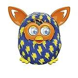 Furby Boom–Elektronische Maskottchen Design mit [spricht Spanisch] Rayitos Blau und Gelb