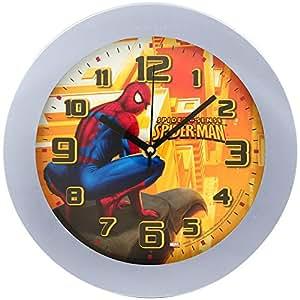 disney horloge pendule murale enfant disney spiderman. Black Bedroom Furniture Sets. Home Design Ideas