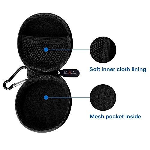 Mini Kopfhörer Tasche mit Schnalle, HiGoing Headset ohrhörer Schutztasche für In Ear Ohrhörer, MP3 Player, iPod Nano, Schlüssel, Lovely Macarons Aussehen (Innenmaß 6.8cm x 6.8cm x 4.0cm) - 6