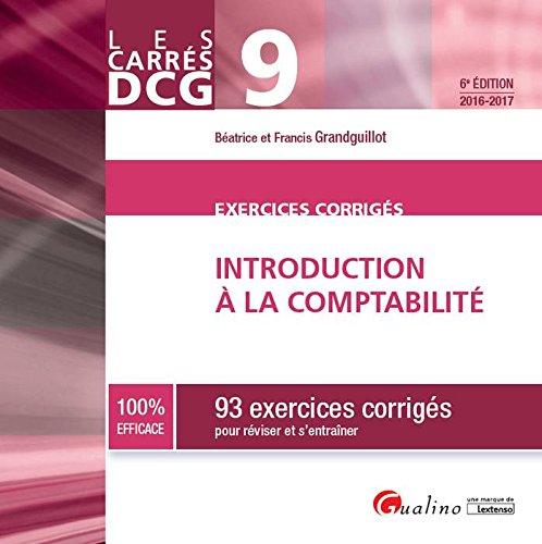 Introduction à la comptabilité : 93 exercices corrigés