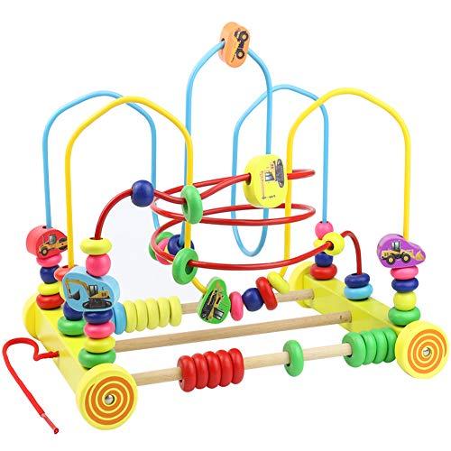 Nuheby Motorikschleife Motorikspielzeug Holzspielzeug Baby Spielzeug Für Kleinkinder 3 4 5 Jahre Mädchen Junge