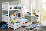 Etagenbett Stockbett Hochbett Doppelbett Viki 90x190 Kinderbett wohnideebilder