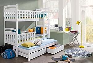 etagenbett stockbett hochbett doppelbett viki 90x190 kinderbett wohnideebilder k che. Black Bedroom Furniture Sets. Home Design Ideas