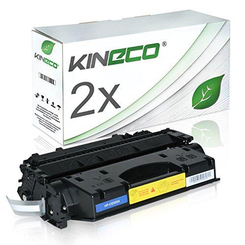 Preisvergleich Produktbild 2 Kineco Toner kompatibel zu HP CE505A LaserJet P 2030 2050 Series 2033 2034 2035 2036 2037 N 2055 DTN 2053 2054 2056 2057 D DN X - 05A - Schwarz je 2.300 Seiten