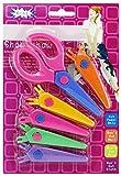 GYD Kinder Bastelscheren mit verschiedene Aufsätze in bunten Farben