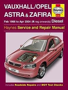 vauxhall astra repair manual haynes manual service manual workshop rh amazon co uk opel astra 1.7 cdti service manual Cdti Logo