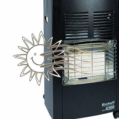 Einhell KGH 4200 Keramik Gasheizer (4200 Watt, inkl. Gasdruckregler) von Einhell - Heizstrahler Onlineshop